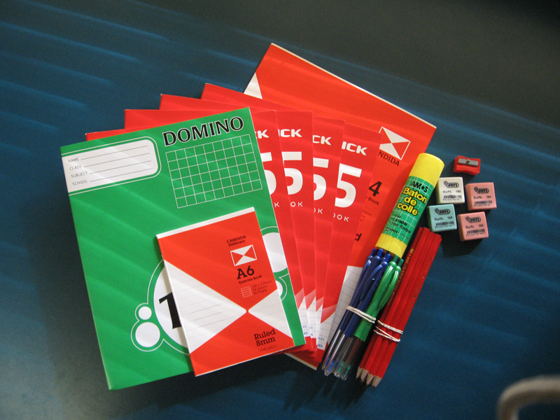 Example Stationary Pack
